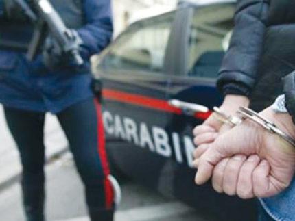 arresto dei Carabinieri, 112, manette