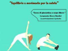 """Locandina del corso """"Equilibrio e movimento per la salute"""""""
