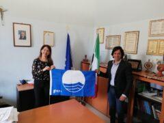 Consegna della Bandiera Blu 2020 a Grottammare