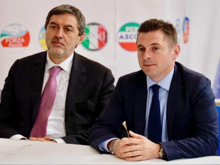 Marco Marsilio e Marco Fioravanti