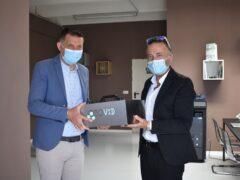 Sanificatore all'ozono donato al Comune di Monteprandone