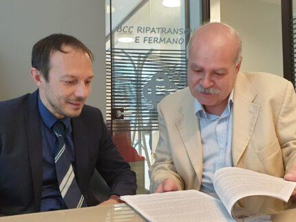 Vito Verdecchia e Michelino Michetti