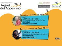 Tappe del 4 e 5 luglio del Festival dell'Appennino