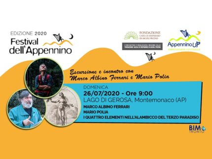 Tappa del Festival dell'Appennino al lago di Gerosa