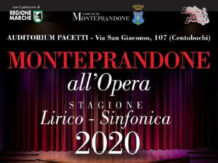 Stagione lirico-sinfonica a Monteprandone