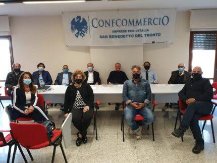 Riunione della Confcommercio provinciale di Ascoli Piceno