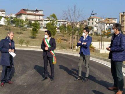 Inaugurazione del nuovo quartiere Valtesino a Grottammare