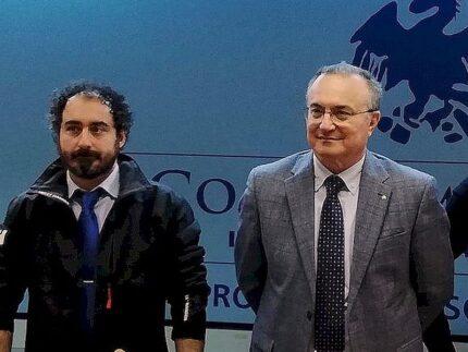 Fausto Calabresi e Daniele Fabiani