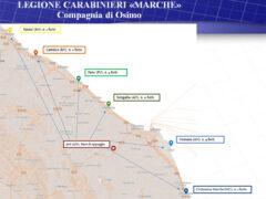Furti nelle spiagge marchigiane e romagnole messi a segno da coppia arrestata a Milano
