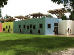 Rendering del nuovo asilo nido di Monteprandone