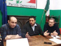 Ameli, Procaccini e Frenquellucci del Partito Democratico di Ascoli