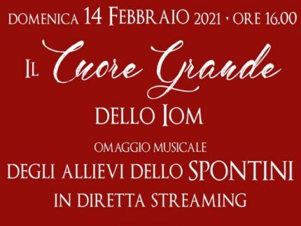 """Concerto """"Il cuore grande dello IOM"""""""