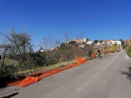 Lavori in via Monterone a Monteprandone
