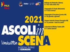 Locandina dell'edizione 2021 di Ascolinscena