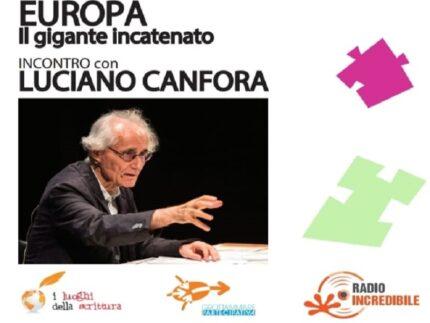 Incontro con Luciano Canfora
