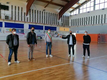 Conclusione dei lavori presso il palazzetto dello sport di Monteprandone