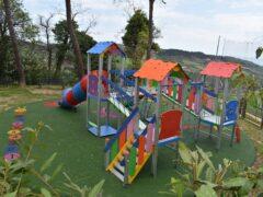 Nuova area giochi realizzata a Monteprandone