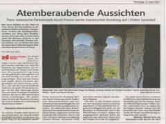 Articolo tedesco sul Piceno