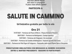 Salute in cammino a Maltignano