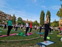 Corso di yoga a Folignano