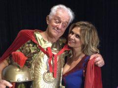 Franco Oppini e Debora Caprioglio