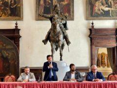 Conferenza stampa presso il Comune di Ascoli