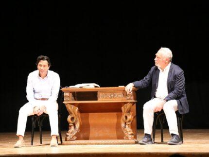 Enrico Piergallini e Giorgio Colangeli