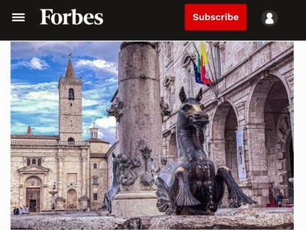 Articolo di Forbes su Ascoli