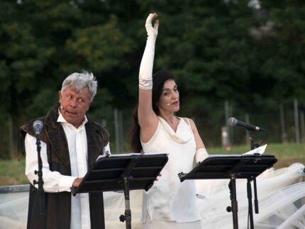 Marco Sgrosso ed Elena Bucci