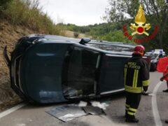 Incidente stradale a Folignano