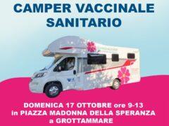 Camper vaccinale a Grottammare
